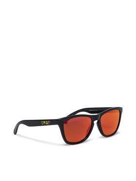 Oakley Oakley Okulary przeciwsłoneczne Frogskins 0OO9013-E655 Czarny