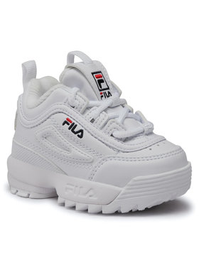 Fila Fila Sneakersy Disruptor F Infants 1010826.1FG Bílá