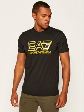 EA7 Emporio Armani EA7 Emporio Armani T-shirt 6HPT16 PJ02Z 1200 Noir Regular Fit