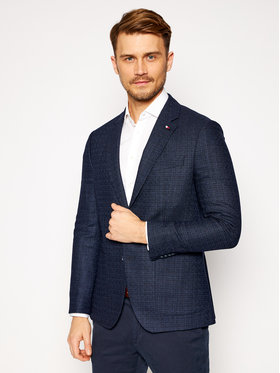 Tommy Hilfiger Tailored Tommy Hilfiger Tailored Sako Fks TT0TT08463 Tmavomodrá Slim Fit