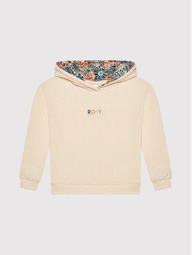 Roxy Roxy Džemperis Marine Bloom ERGFT03628 Smėlio Relaxed Fit