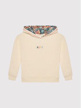 Roxy Roxy Sweatshirt Marine Bloom ERGFT03628 Beige Relaxed Fit