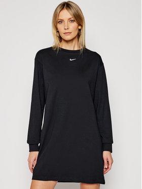 Nike Nike Každodenní šaty Nsw Essential CU6509 Černá Loose Fit