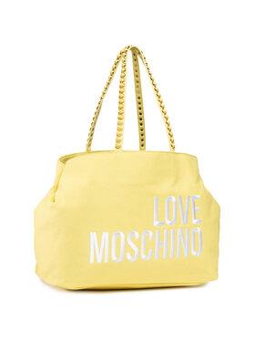 LOVE MOSCHINO LOVE MOSCHINO Torebka JC4078PP1CLC0400 Żółty