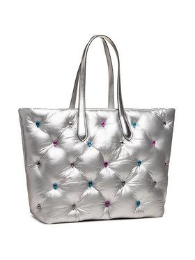 KARL LAGERFELD KARL LAGERFELD Handtasche 210W3097 Silberfarben