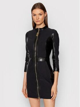 Elisabetta Franchi Elisabetta Franchi Коктейлна рокля AB-064-16E2-V450 Черен Slim Fit