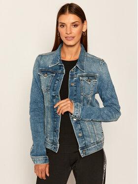 Pepe Jeans Pepe Jeans Kurtka jeansowa Thrift PL400755 Granatowy Regular Fit