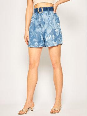 Desigual Desigual Pantaloncini di tessuto Harbour 20SWPN18 Blu Regular Fit