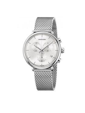 Calvin Klein Calvin Klein Uhr Gent Chrono K8M27126 Silberfarben