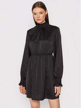 NA-KD NA-KD Kleid für den Alltag Padded Shoulder 1018-007361-0002-581 Schwarz Regular Fit