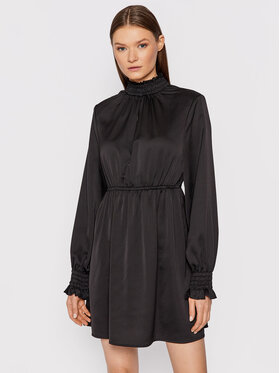 NA-KD NA-KD Sukienka codzienna Padded Shoulder 1018-007361-0002-581 Czarny Regular Fit