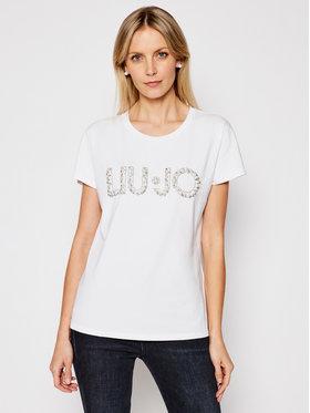 Liu Jo Liu Jo T-Shirt CA1236 J9135 Bílá Regular Fit