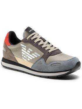 Emporio Armani Emporio Armani Sneakers X4X215 XL200 N062 Maro