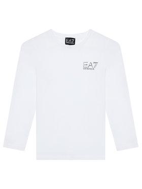 EA7 Emporio Armani EA7 Emporio Armani Bluse 6KBT52 BJ02Z 1100 Weiß Regular Fit