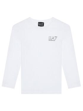 EA7 Emporio Armani EA7 Emporio Armani Bluzka 6KBT52 BJ02Z 1100 Biały Regular Fit
