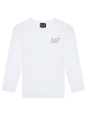 EA7 Emporio Armani EA7 Emporio Armani Chemisier 6KBT52 BJ02Z 1100 Blanc Regular Fit