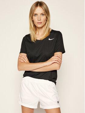 Nike Nike Koszulka techniczna City Sleek CJ9444 Czarny Regular Fit