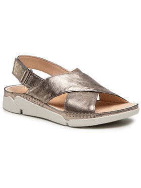 Clarks Clarks Sandále Tri Alexia 261479384 Zlatá
