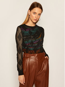 Desigual Desigual Пуловер Ferrara 20WWJFB6 Черен Regular Fit
