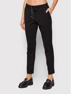 Imperial Imperial Текстилни панталони PTU9CBQ Черен Regular Fit