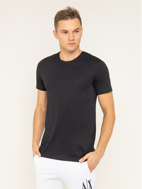Armani Exchange Armani Exchange T-shirt 8NZT74 ZJA5Z 1200 Nero Slim Fit