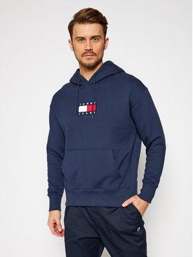 Tommy Jeans Tommy Jeans Sweatshirt Small Flag DM0DM08726 Bleu marine Regular Fit