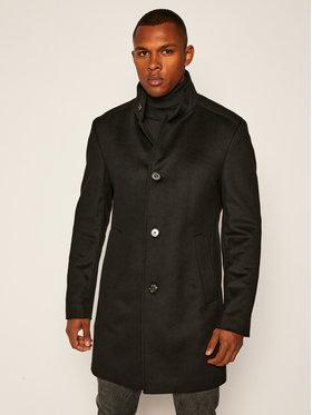 Joop! Joop! Παλτό μεταβατικό 17 JC-21Maron 30022586 Μαύρο Slim Fit