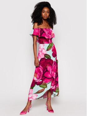 Desigual Desigual Sukienka letnia Arles 21SWVWAN Różowy Regular Fit