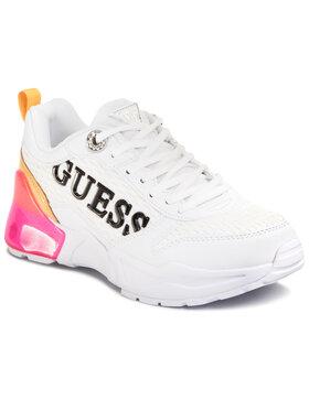 Guess Guess Laisvalaikio batai Tandey2 FL6TA2 FAB12 Balta