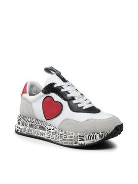 LOVE MOSCHINO LOVE MOSCHINO Сникърси JA15314G1DIE410B Бял