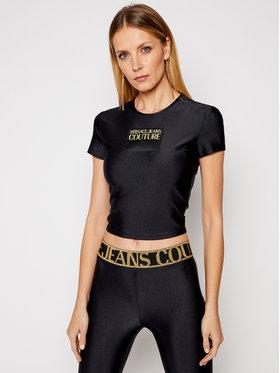Versace Jeans Couture Versace Jeans Couture Тишърт B2HWA703 Черен Regular Fit