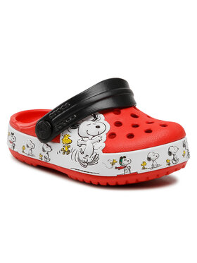 Crocs Crocs Šľapky Fl Snoopy Woodstock Cg K 206176 Červená