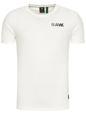 G-Star RAW G-Star RAW Тишърт Thistle Gr Lash D18532-336-111 Бял Loose Fit