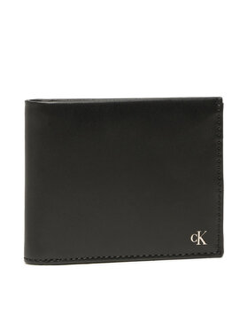 Calvin Klein Jeans Calvin Klein Jeans Didelė Vyriška Piniginė Mono Hardware Billfold W/Coin K50K507220 Juoda