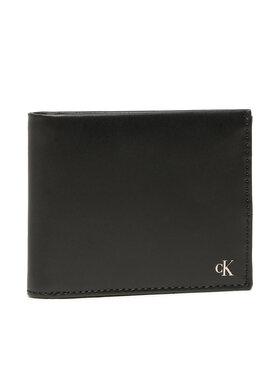 Calvin Klein Jeans Calvin Klein Jeans Голям мъжки портфейл Mono Hardware Billfold W/Coin K50K507220 Черен