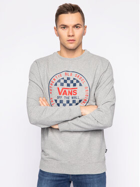Vans Vans Sweatshirt Checker Crew VN0A49TL02F1 Gris Regular Fit