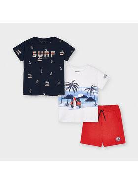 Mayoral Mayoral 2er-Set T-Shirts und Shorts 3641 Bunt Regular Fit