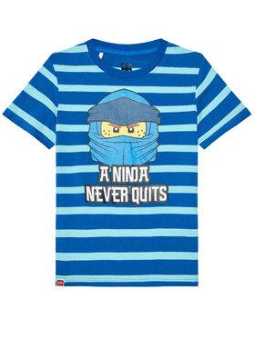 LEGO Wear LEGO Wear Marškinėliai 12010098 Mėlyna Regular Fit