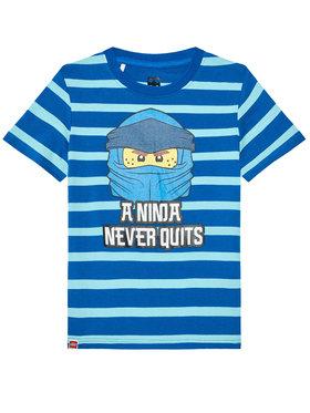 LEGO Wear LEGO Wear T-Shirt 12010098 Niebieski Regular Fit
