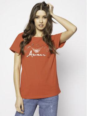 Emporio Armani Emporio Armani Marškinėliai 164340 0P291 00074 Raudona Regular Fit