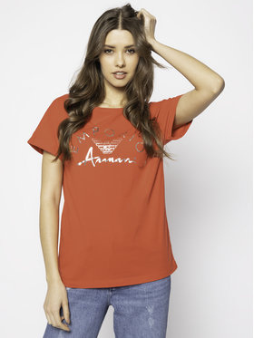 Emporio Armani Emporio Armani T-Shirt 164340 0P291 00074 Czerwony Regular Fit