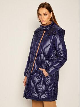 Trussardi Jeans Trussardi Jeans Giubbotto piumino Quilted 56S00493 Blu scuro Regular Fit