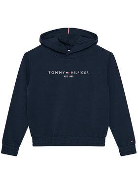 TOMMY HILFIGER TOMMY HILFIGER Mikina Essential KG0KG05216 D Tmavomodrá Regular Fit