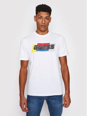 Guess Guess T-shirt U1GA32 J1311 Bianco Regular Fit