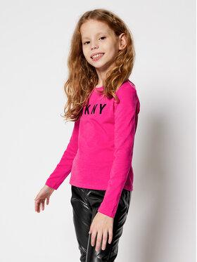 DKNY DKNY Blusa D35R14 Rosa Regular Fit