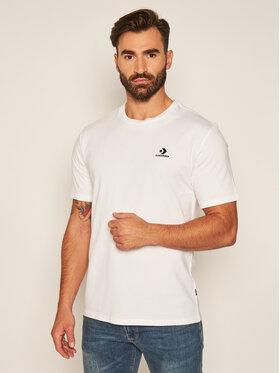 Converse Converse T-Shirt Embroidered Star Chevron Tee 10020224-A01 Bílá Regular Fit