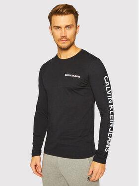 Calvin Klein Jeans Calvin Klein Jeans S dlhými rukávmi J30J316884 Čierna Regular Fit
