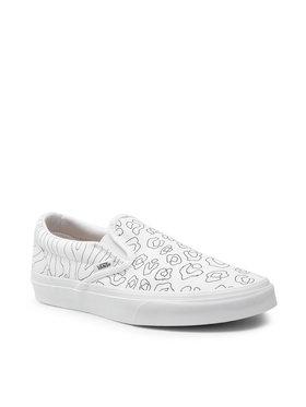 Vans Vans Πάνινα παπούτσια Classic Slip-On VN0A33TB9I91 Λευκό