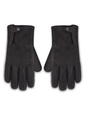 Ugg Ugg Pánske rukavice M Tabbed Splice Vent Lthr Glv 18832 Čierna
