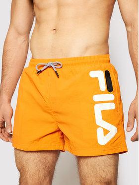 Fila Fila Pantaloni scurți pentru înot Michi 688922 Portocaliu Regular Fit